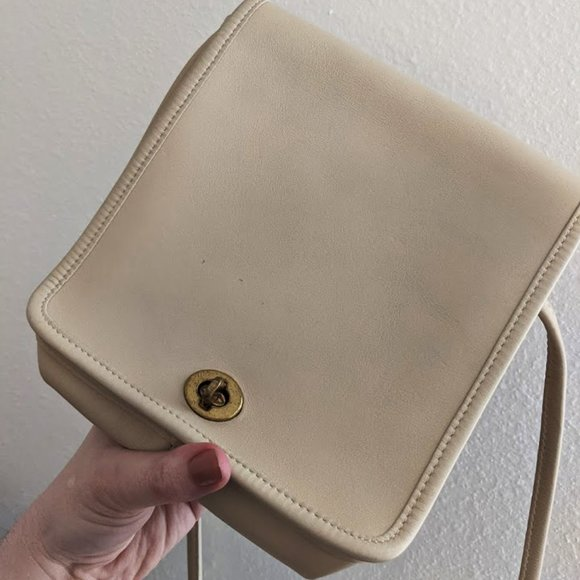 Coach Vintage Legacy Companion Flap Bag (Tan Bone)